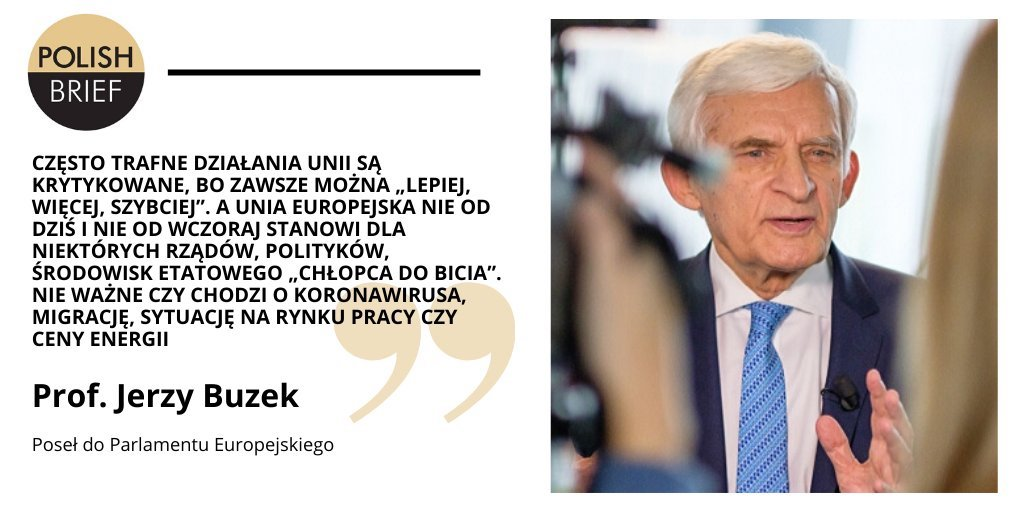 Polish Brief Jerzy Buzek 29.04.20
